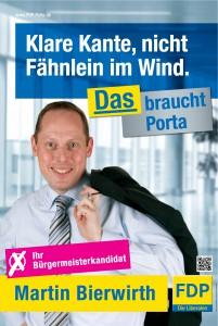 Wahlkampfplakat