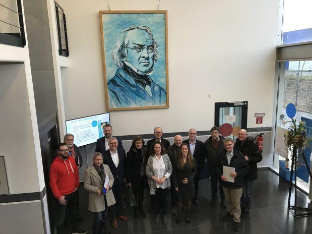 FDP Fraktion zu Besuch bei Gehe Pharma