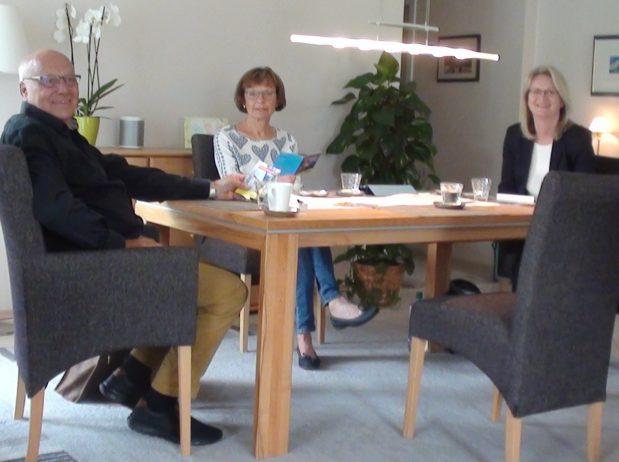Arbeitssitzung mit Dr. Sonja Gerlach